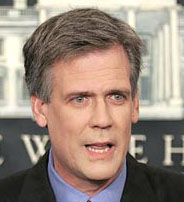 White House Press Secretary Tony Snow