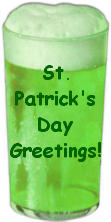 Have a glass of green beer on St. Pats Day 031705