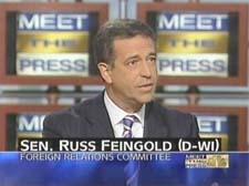 Senator Russ Feingold D-Wisconsin