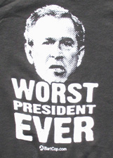 George W. Bush, Worst President Ever